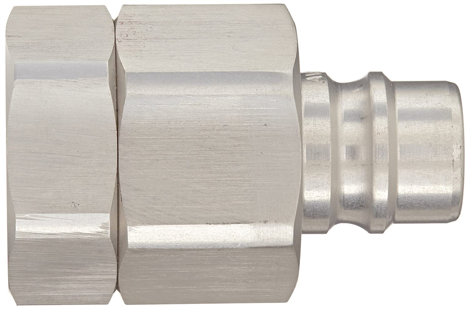 1//2 NPTF Female x 1//2 Coupling Size 1//2 NPTF Female x 1//2 Coupling Size Snap-Tite AVHN8-8F Aluminum H-Shape Quick-Disconnect Hose Coupling Nipple