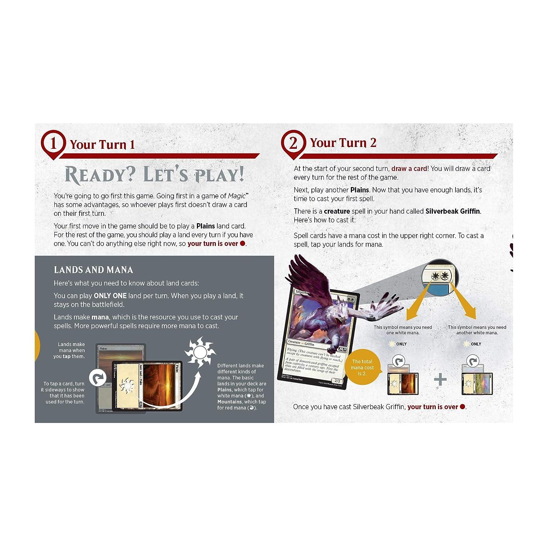 e89dddedbf2b Amazon.com: Magic The Gathering Spellslinger Starter Kit | 2 Starter Decks  | 2 Dice | 2 Learn to Play Guides: Toys & Games
