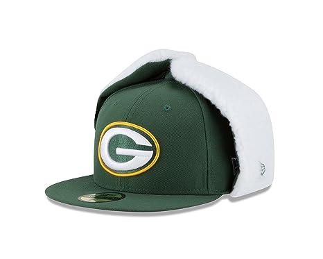 8fb9cbef683 Amazon.com   New Era NFL Flurry Fit Dogear 59FIFTY Cap   Sports ...