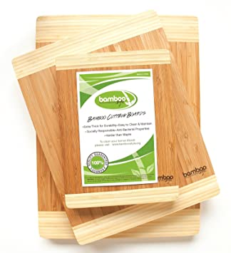 Amazon.com: Huge Stock Clearance Sale - Premium 3 Piece Bamboo ...
