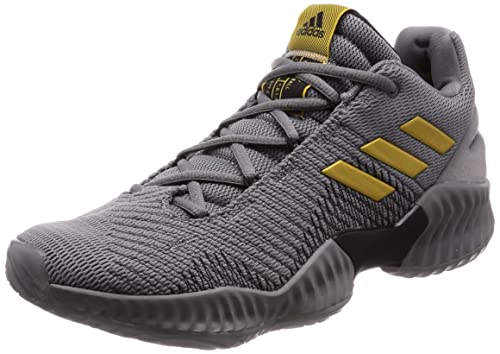 822caa3d8 Adidas Men s Pro Bounce 2018 Low Grethr Goldmt Grefou Basketball Shoes-9 UK