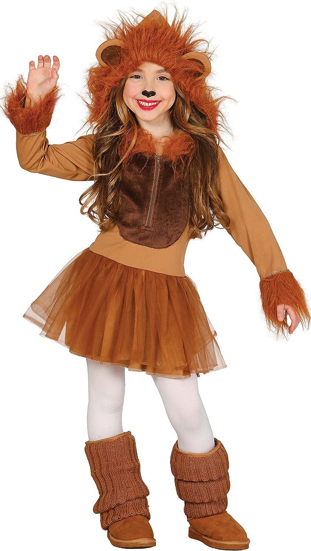 Guirca- Disfraz leona, Talla 7-9 años (83254.0): Amazon.es ...