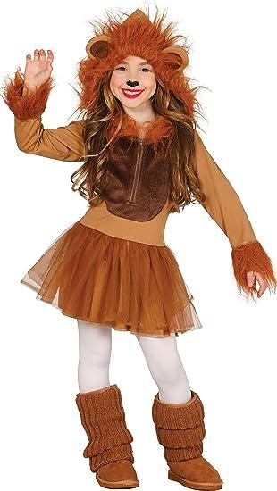 Guirca- Disfraz leona, Talla 5-6 años (83253.0): Amazon.es ...