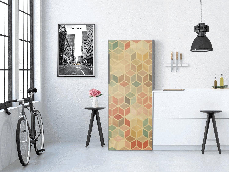 Kühlschrank Bekleben Retro : Creatisto kühlschrank 60x150 cm kühlschrankdeko innendekoration