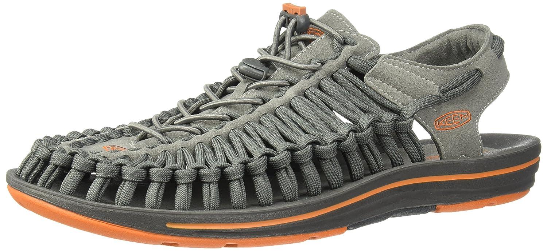 Keen Uneek Flat Sandalia Ias para Caminar - SS18 10.5|GARGOYLE