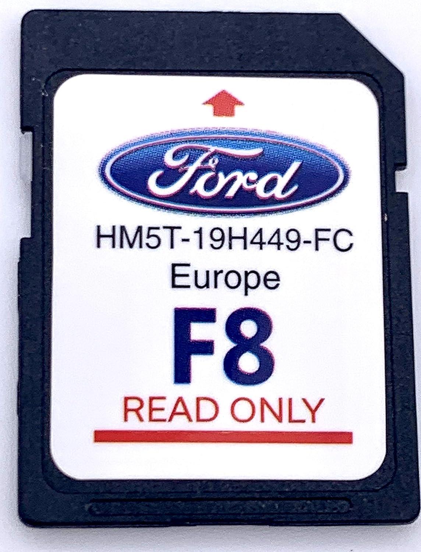 Ford F8 SYNC2 Tarjeta SD Mapa de navegación Europa 2019-2020: Amazon.es: Electrónica