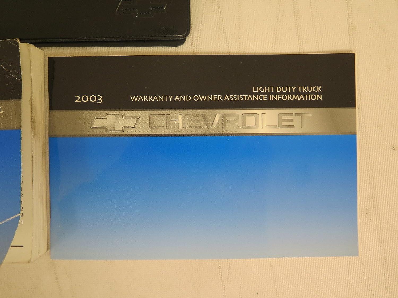 Amazon.com: 2003 Chevy Chevrolet Trailblazer Owners Manual: Car Electronics