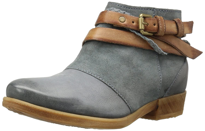 Miz Mooz Women's Danita Ankle Bootie B01KU6HGO6 36 M EU (5.5-6 US) Sky