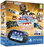 Sony PS Vita WiFi Console with 10 game Mega Pack on 16GB Memory Card (PlayStation Vita)