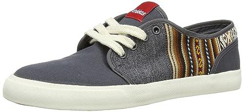 INKKAS Slant - zapatillas de lona hombre, color gris - Grey (Wolf),