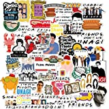 The Friends Stickers for Tv Show Merchandise(50pcs)Friends TV Show Merchandise Fans Stickers for Laptop Water Bottle Luggage