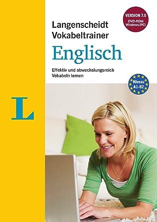 Langenscheidt Vokabeltrainer 70 Englisch Dvd Rom Effektiv Und