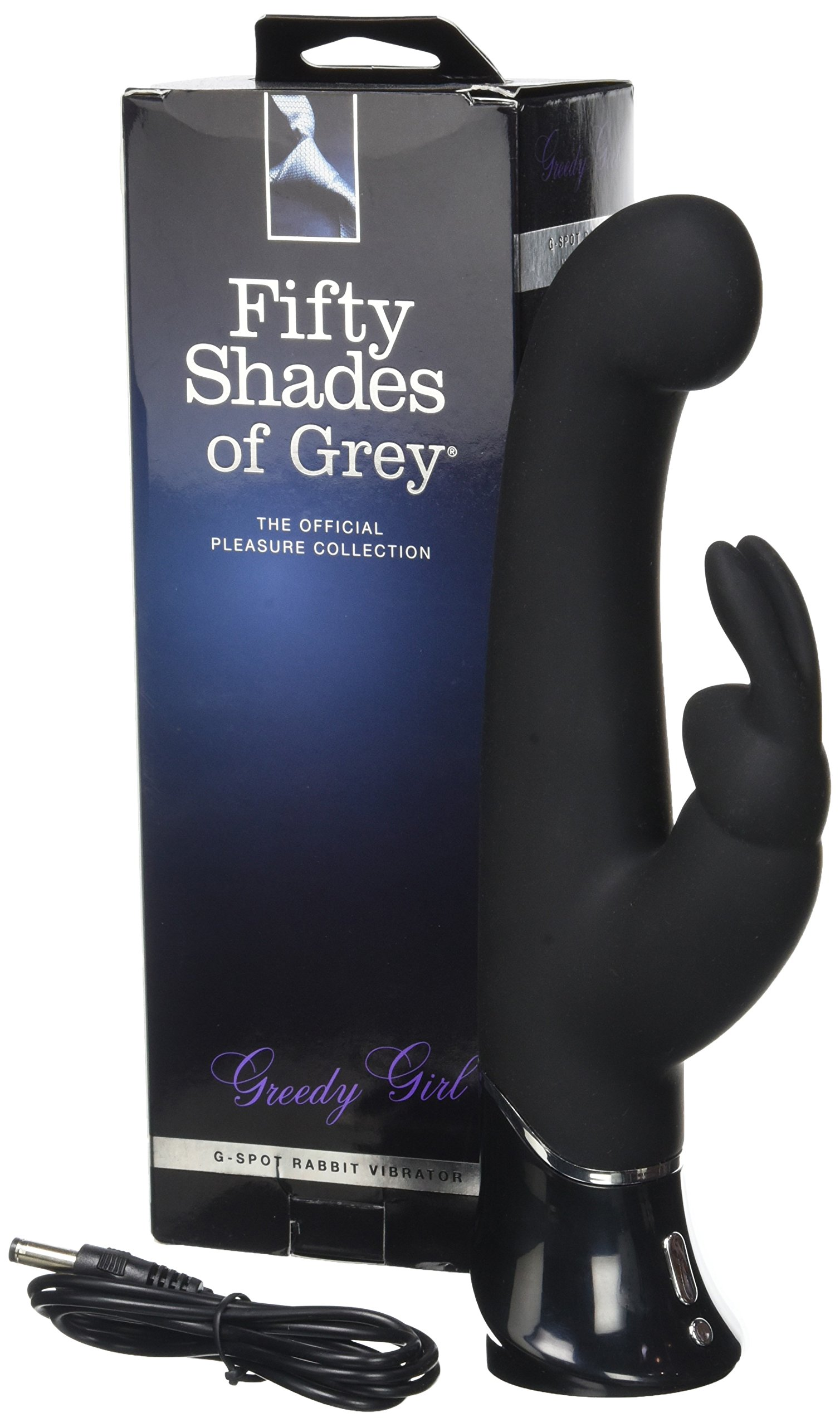 Fifty Shades of Grey Greedy Girl G-Spot Rabbit Vibe by Fifty Shades of Grey