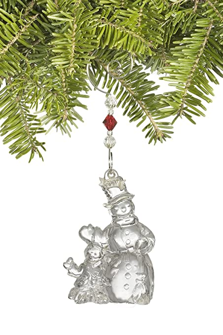 Waterford Crystal Christmas Ornaments.Amazon Com Waterford Crystal Christmas Wonders Jolly