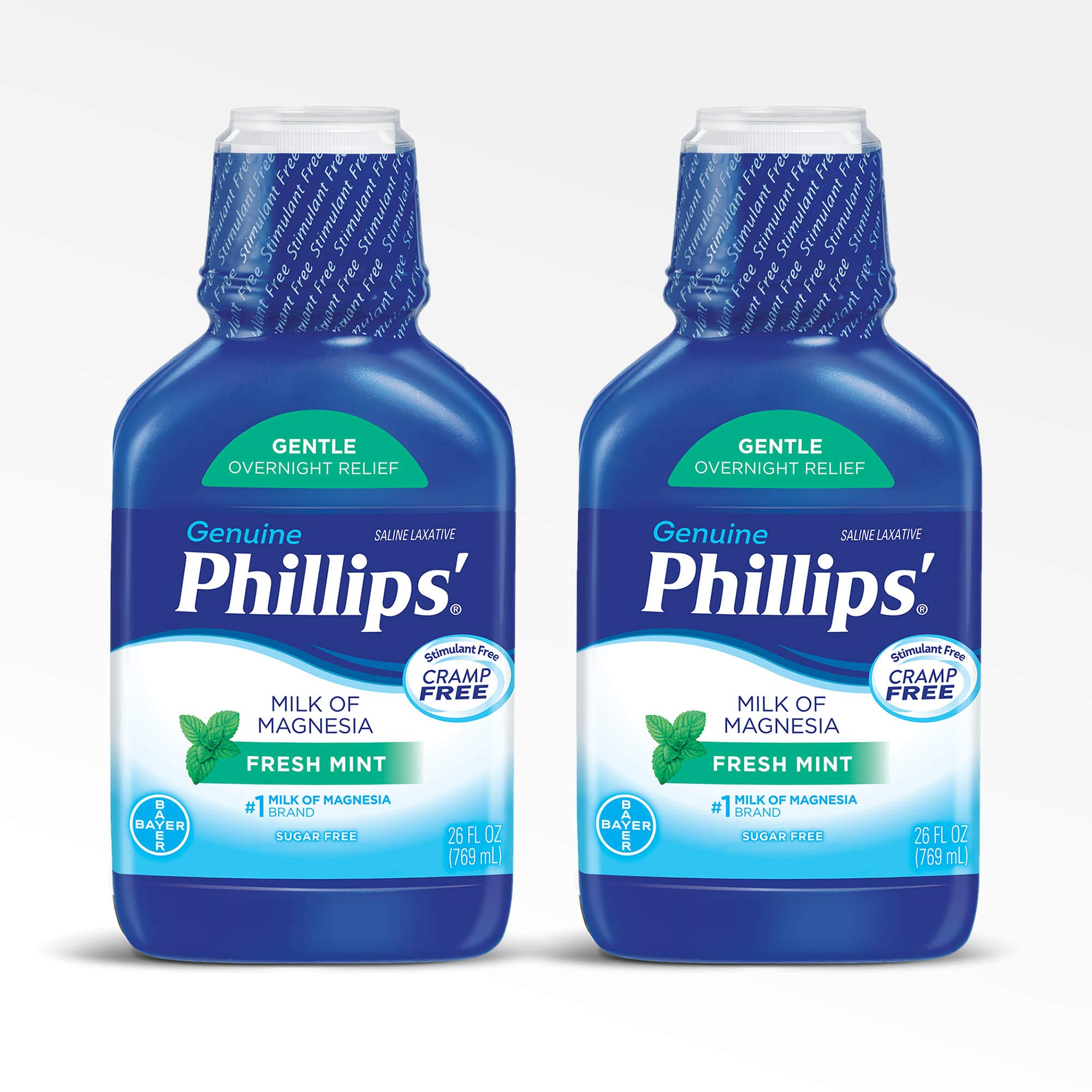 Phillips Milk of Magnesia Laxative (Fresh Mint, 26-Fluid-Ounce Bottle