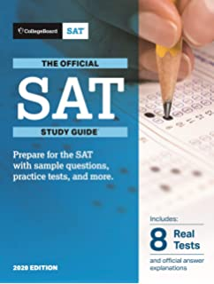Amazon com: The Official SAT Study Guide, 2018 Edition (Official