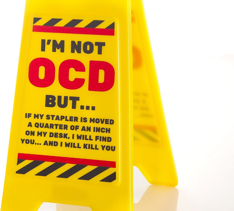 office desk work  joke prank novelty warning signs secret santa