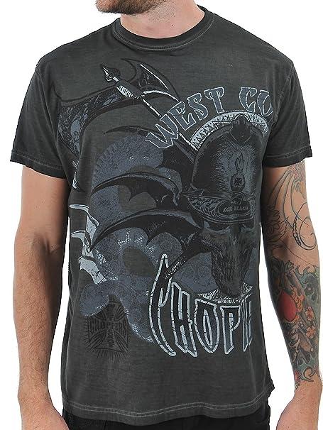 Camisa De Trabajo Jesse James Heavy Duty Logo Gris (L , Gris)