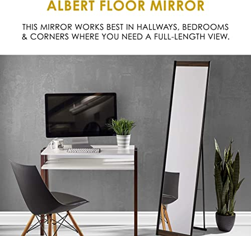 Adesso WK1113-15 Albert Floor Mirror