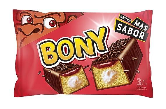 Bimbo Bony - Pastel, 3 unidades X 165 g