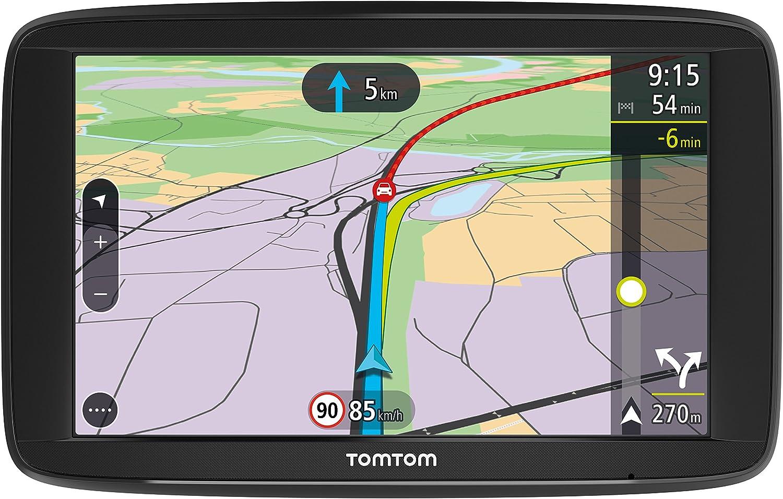 Disques de Fixation Adh/ésifs pour Tableau de Bord 5 Pouces Trafic /à Vie Adapt/és /à Tous Les GPS TomTom Via Smartphone - GPS Auto et Appel Mains-Libres TomTom Via 52 Cartographie Europe 48