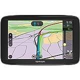 TomTom Via 62 Europe Traffic Navigationsgerät (15 cm (6 Zoll), Sprachsteuerung, Bluetooth Freisprechen, Fahrspurassistent, 3 Monate Radarkameras (auf Wunsch), Karten von 48 Ländern Europas)