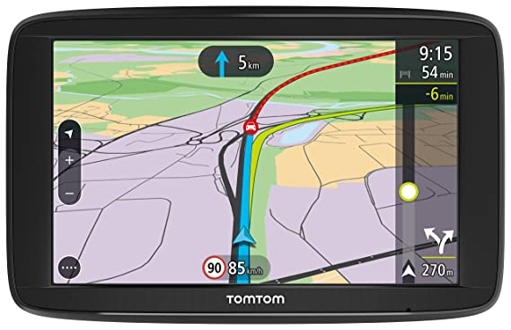 Tomtom via navigationssystem kontinent amazon navigation