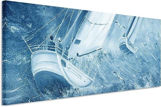 150 X 50 Cm Couleur Bleu Pétrole Fresque Murale