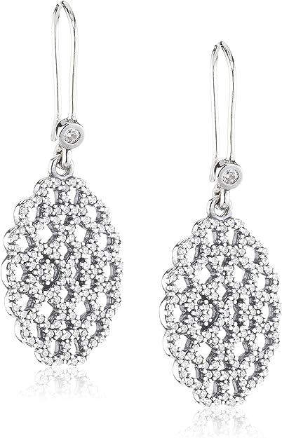 Pandora 290556CZ - Orecchini pendenti da donna, in argento ...