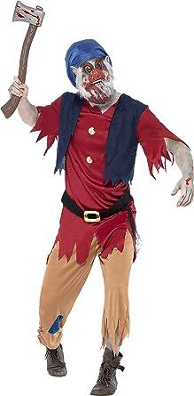 Smiffys Mens Zombie Dwarf Costume