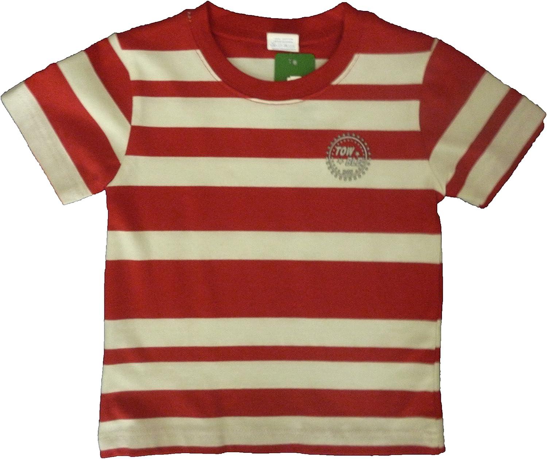 Towble - Camisetas Manga Corta - para niño Rojo Beige 3 años ...