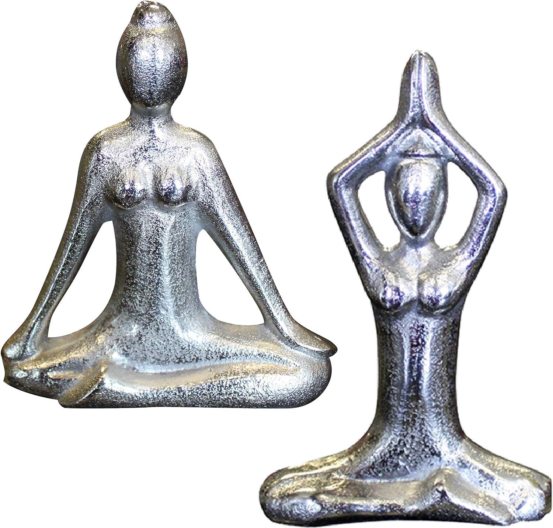 Yoga Decor, Yoga Figurines, Meditation Figurines, Great for Yoga Studio, Meditation Room, Zen Room Decor, Yoga Statue, Great Gift for Yoga Lovers and Instructors