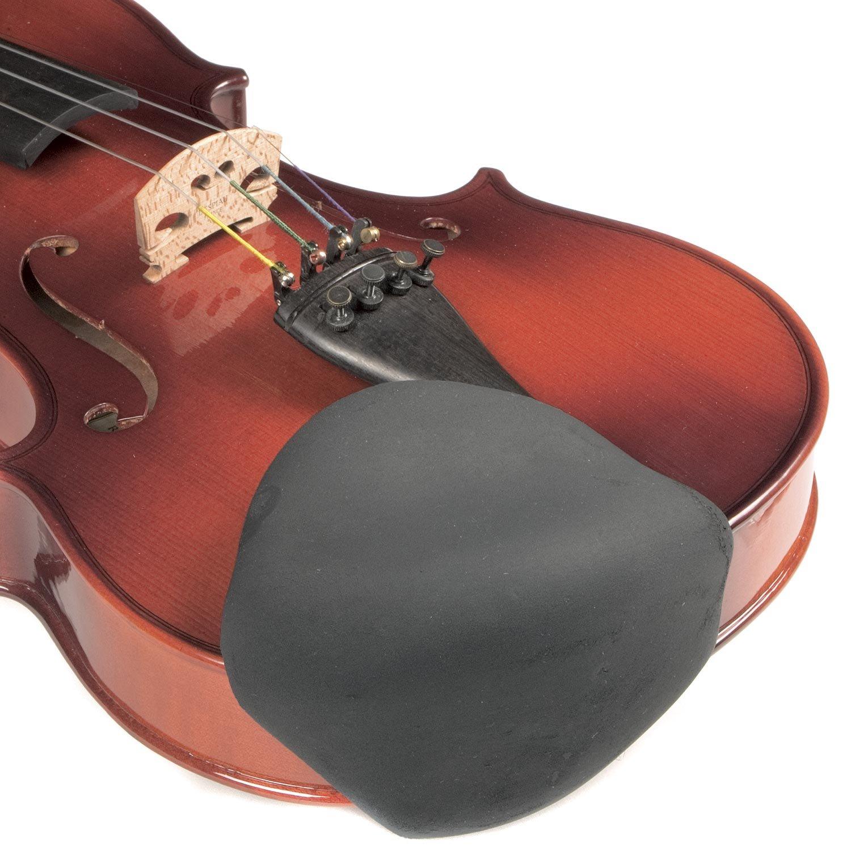 Strad Pad Black Chinrest Pad: Large Sattler BHBAZUSM21M1238