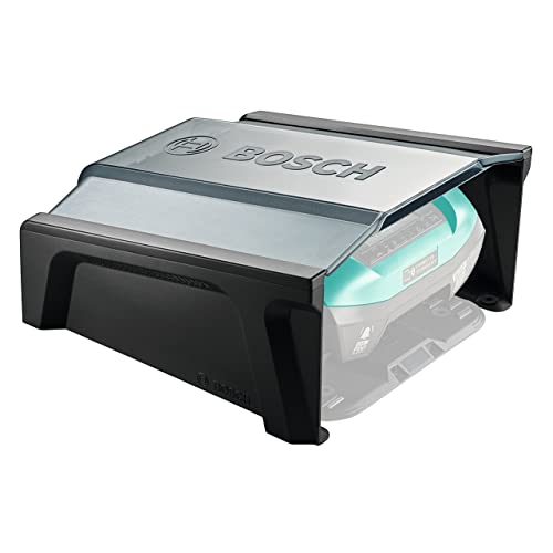 Bosch 06008B0500 Garage pour Tondeuse Robot Indego 350/400, Noir, 275 x 500 x 510 mm
