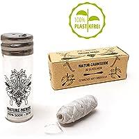Nature Nerds - Hilo dental natural sin plástico