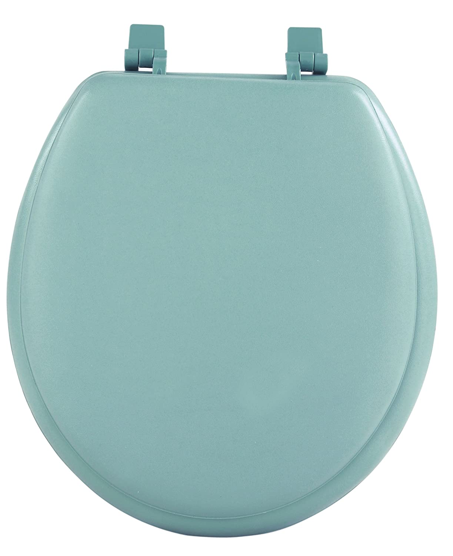 17 inch elongated toilet seat. Achim Home Furnishings TOVYSTLG04 17 Inch Fantasia Standard Toilet Seat  Soft Light Green Amazon com
