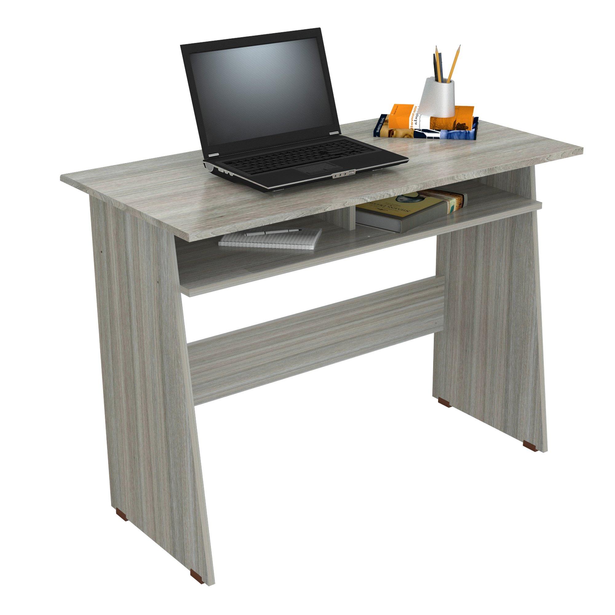 Inval ES-10503 Writing Desks, Smoke Oak