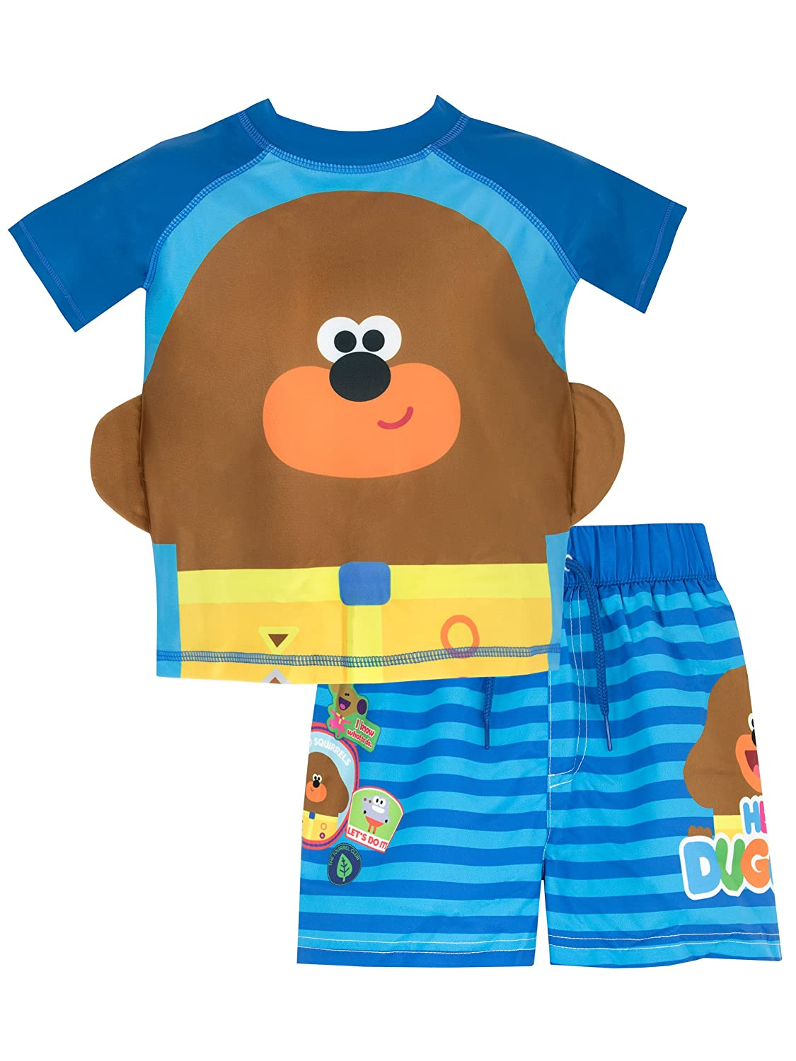 Hey Duggee Boys' Duggee Two Piece Swim Set