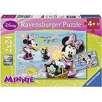 Ravensburger 88621 Wd 2x24PPuzzle Minnie Mousse