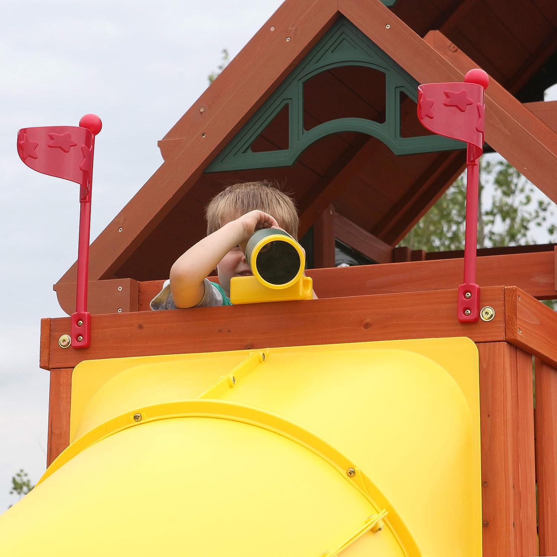 Gr/ün KidKraft A24503 Spielhaus-Teleskop f/ür den Au/ßenbereich