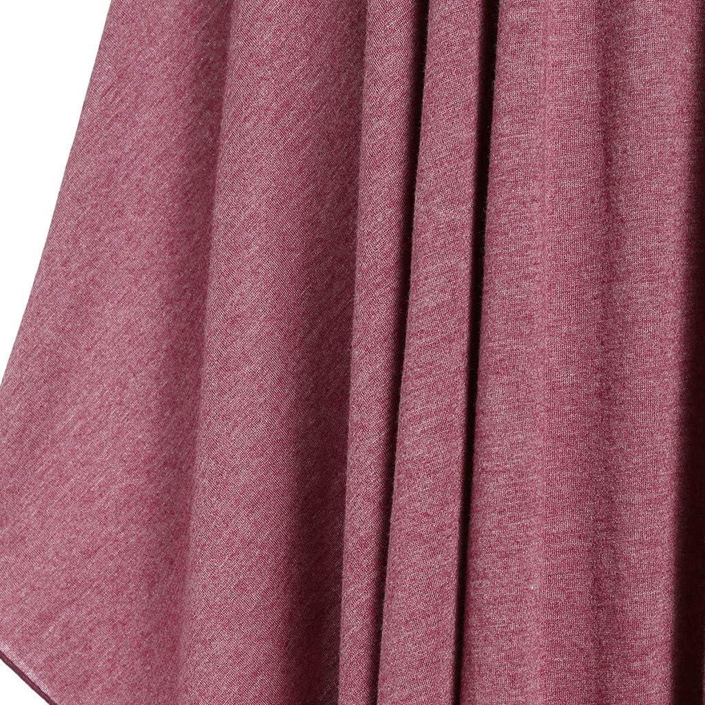 WENOVL Casual Dresses for Women,Women Plus Size Cool Solid Bandage Irregular Hem Sleeveless Camisole Mini Dress