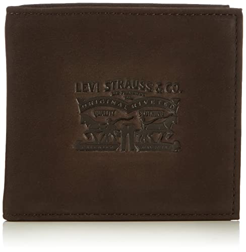LEVIS FOOTWEAR AND ACCESSORIES Vintage Two Horse Bifold, Monedero Unisex Adulto, 2x10x11 cm (W x H x L)