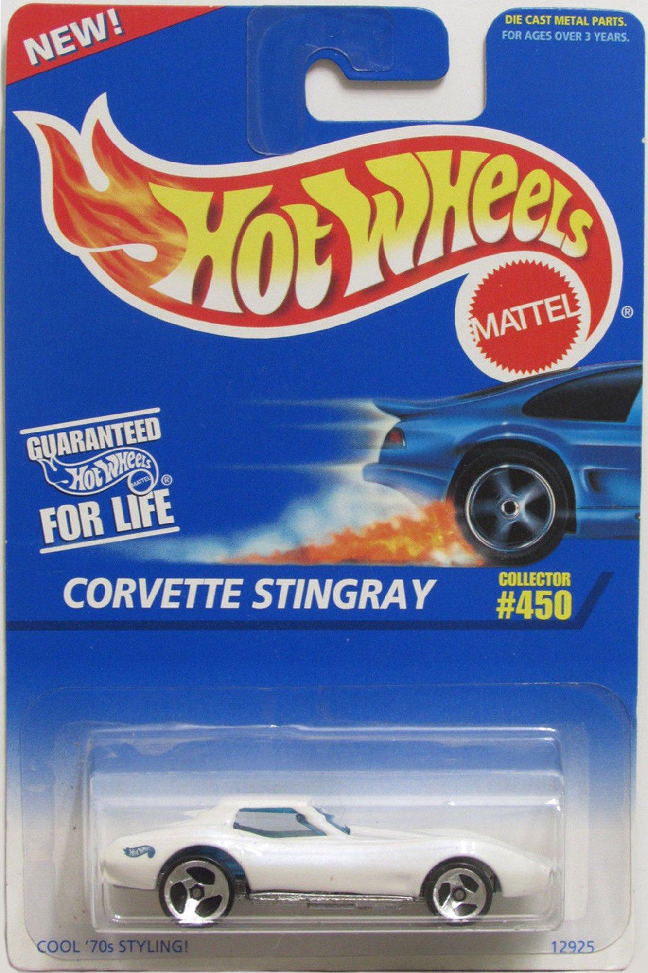 Hot Wheels Corvette Stingray #450 3 Spoke