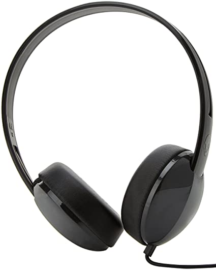 9526a3947d9 Skullcandy S2LHY-K576 Stim On-Ear Headphone with Mic  Amazon.in  Electronics