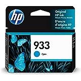 HP 933   Ink Cartridge   Cyan   Works with HP OfficeJet 6100, 6600, 6700, 7110, 7510, 7600 Series   CN058AN