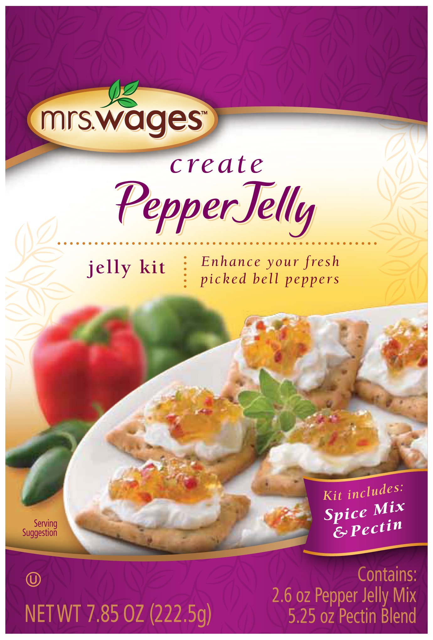 Mrs. Wages Create Pepper Jelly Kit, 7.85 Ounce (Pack of 6) by Mrs. Wages (Image #1)