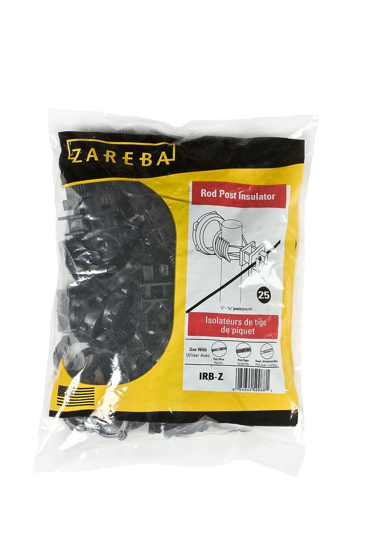 Zareba IRB-Z Screw-on Insulator, 25 Per Bag, Yellow