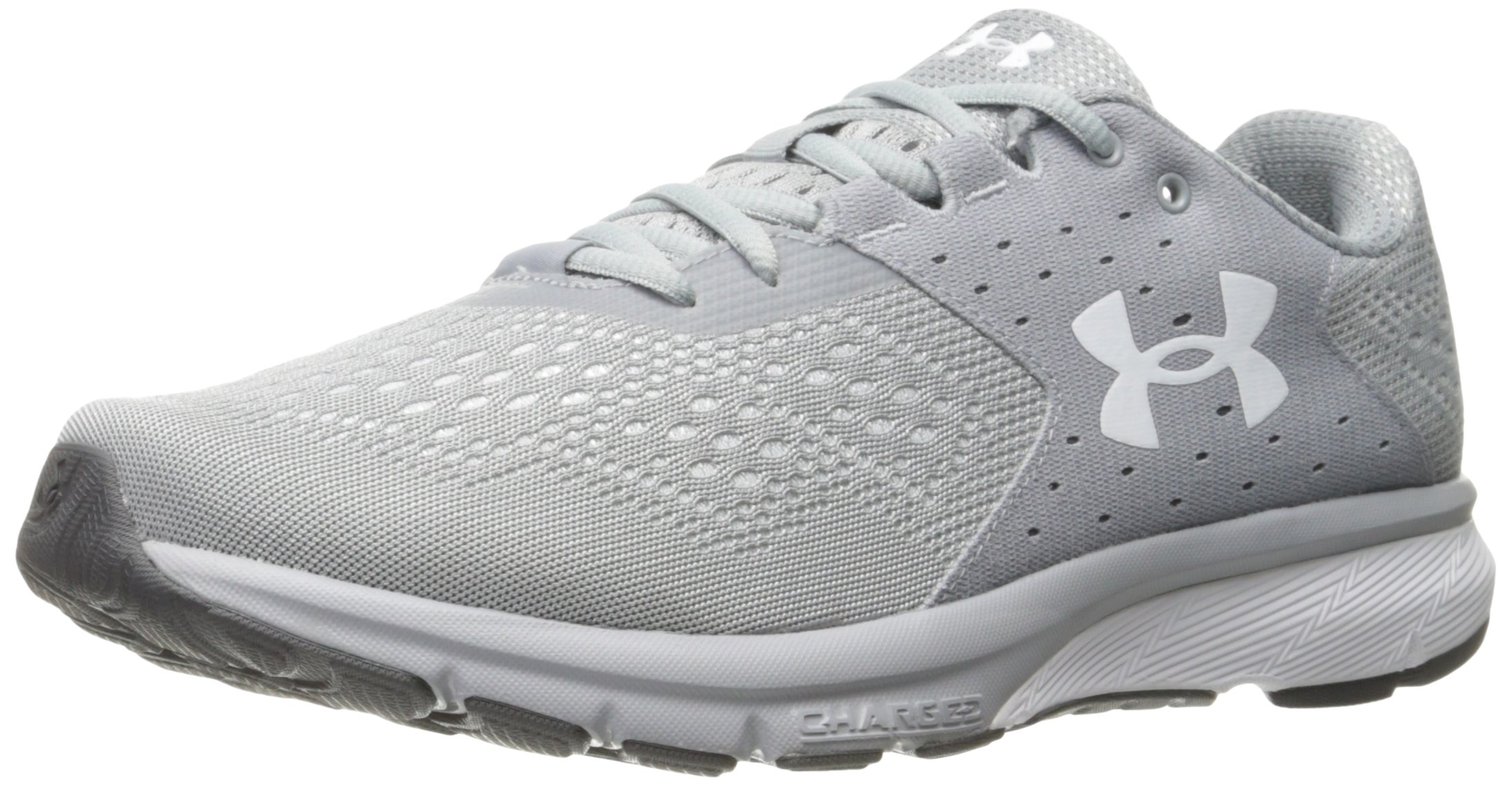 59006842d3 Galleon - Under Armour Men's Charged Rebel Running Shoe, Overcast Gray  (101)/Elemental, 9.5