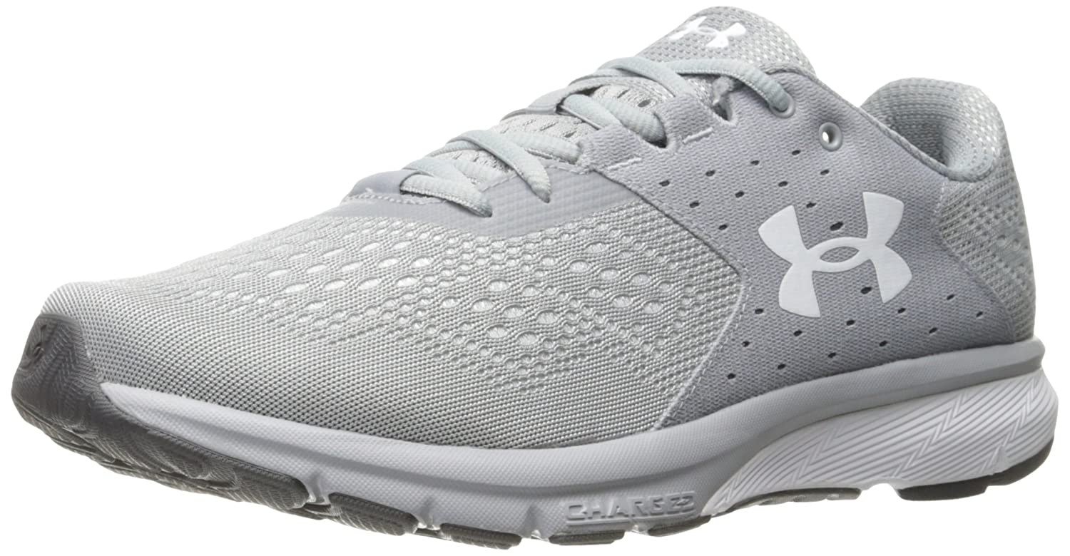 Under Armour Men's Charged Rebel Running Shoe B01NBF48HP 12.5 M US|Overcast Gray (101)/Elemental
