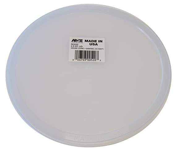 Amazon.com: Argee RG520 12-Pack Versa-Tainer Plastic Lid for Bucket: Home & Kitchen